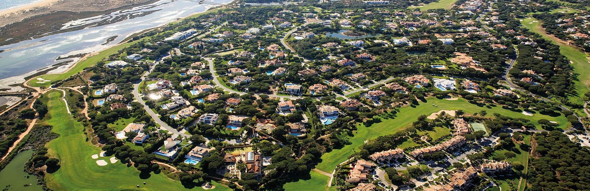 Quinta do Lago aerial view